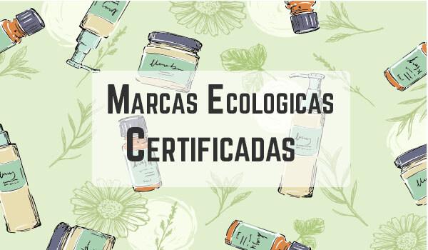 Listas de marcas de cosmética ecológica certificada