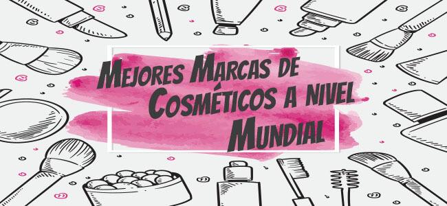 Las mejores marcas de cosméticos a nivel mundial