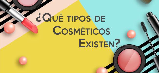 ¿Qué tipos de cosméticos existen?